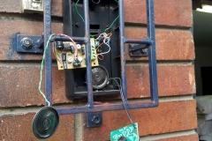 Instalación de citofono Urmet y amplificador de audio